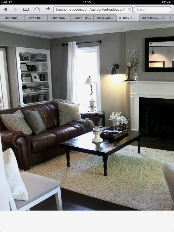 Graceful Living Room Remodel On A Budget Brick Fireplaces ...