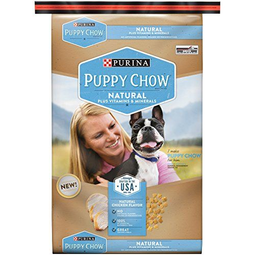 Purina Puppy Chow Dry Dog Foodnatural Plus Vitamin And Minerals
