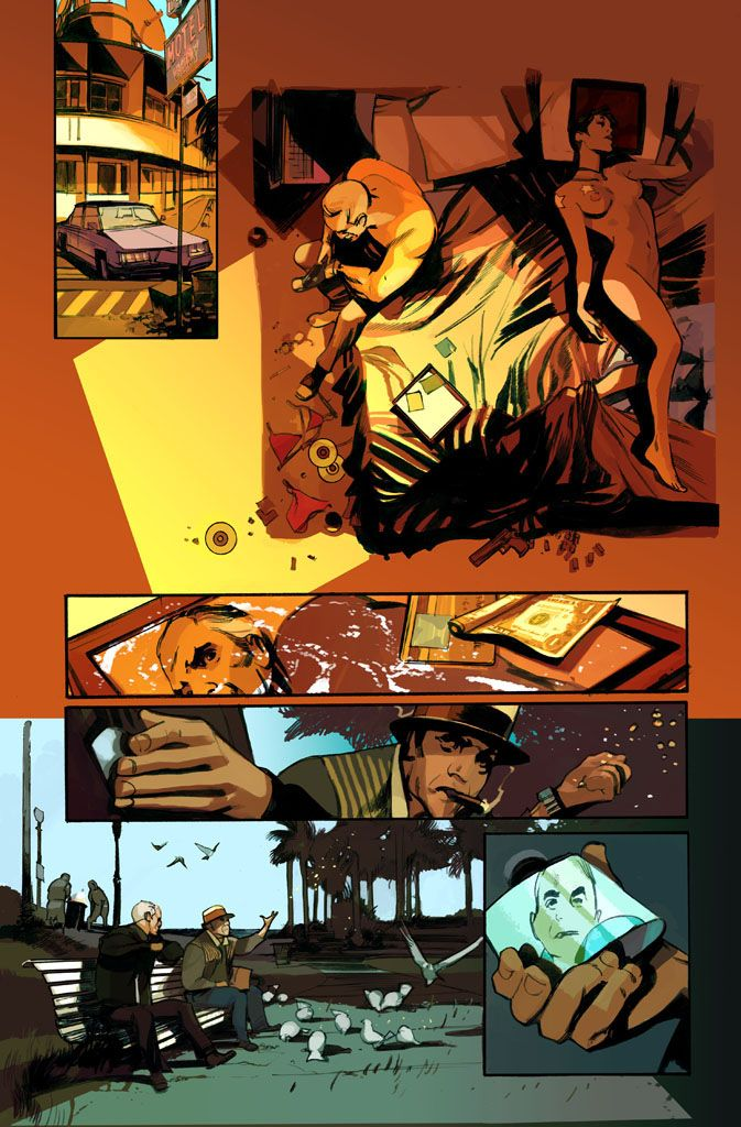 The Last Days Of American Crime Cenas Do Proximo Capitulo In The Next Issue Comic Book Layout Comic Layout Graphic Novel Art