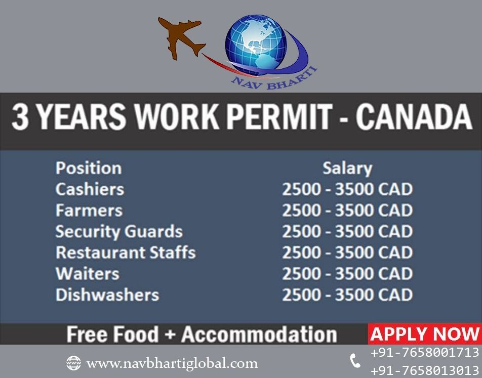 Canada Location Also Mention Fees After Visa Last Date 30feb2018 Skilled Unskilled 1 Accommodation Provided 2 Ticket Pr How To Apply Visa Security Guard