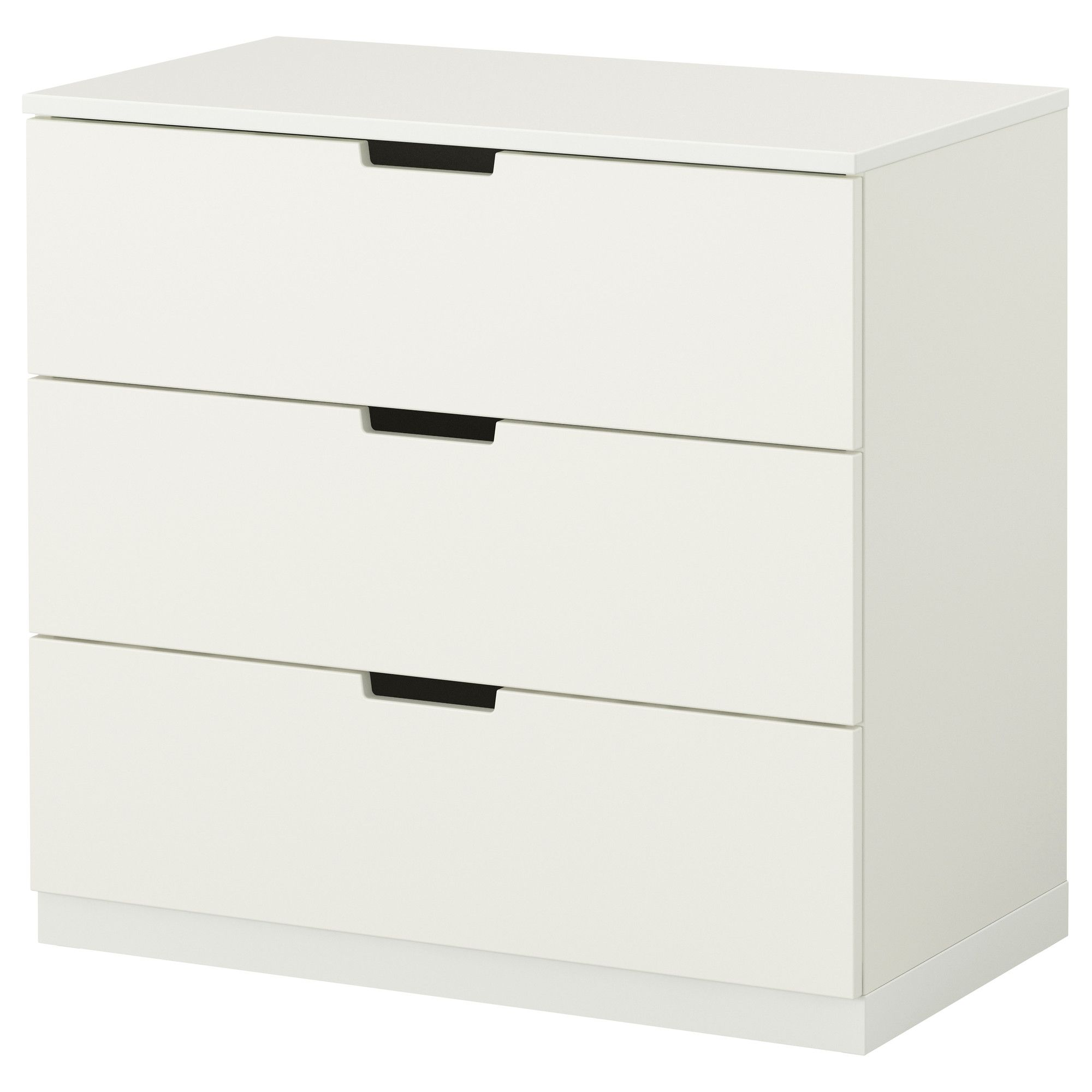 Kommode weiß ikea  NORDLI Ladekast 3 lades, wit | Drawers, Girls room storage and Desks