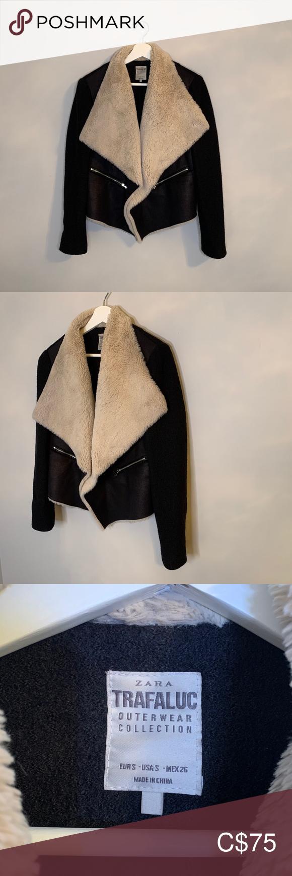 Zara Trafaluc Outerwear Collection Jacket Clothes Design Women Shopping Outerwear [ 1740 x 580 Pixel ]