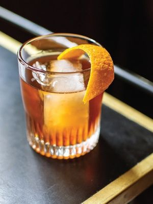 Recipes from The Nest - Rye/Bourbon Old Fashioned