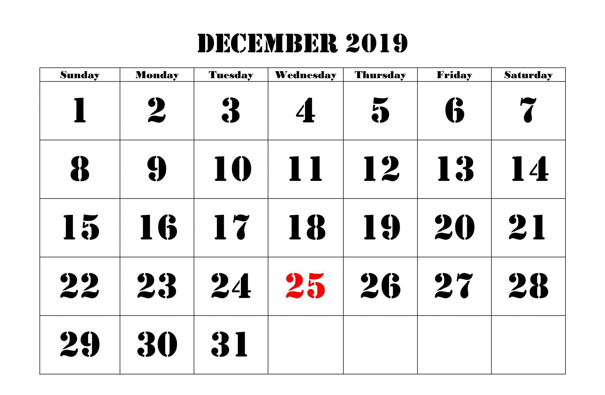 Holidays Calendar Of December 2019 India November Calendar