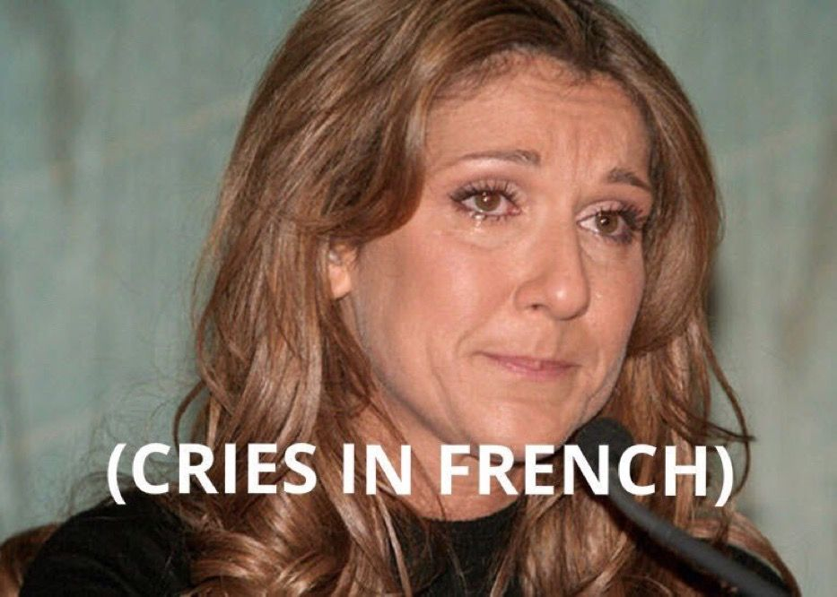Cries In French Meme French Meme Crying Meme Meme Faces