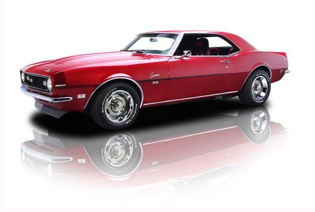 1968 Chevrolet Camaro Super Sport Ls1 5 7 Liter V8 6 Speed Manual
