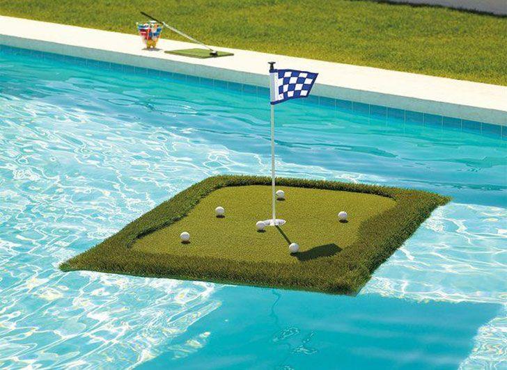 Floating golf green golf green golf golf courses