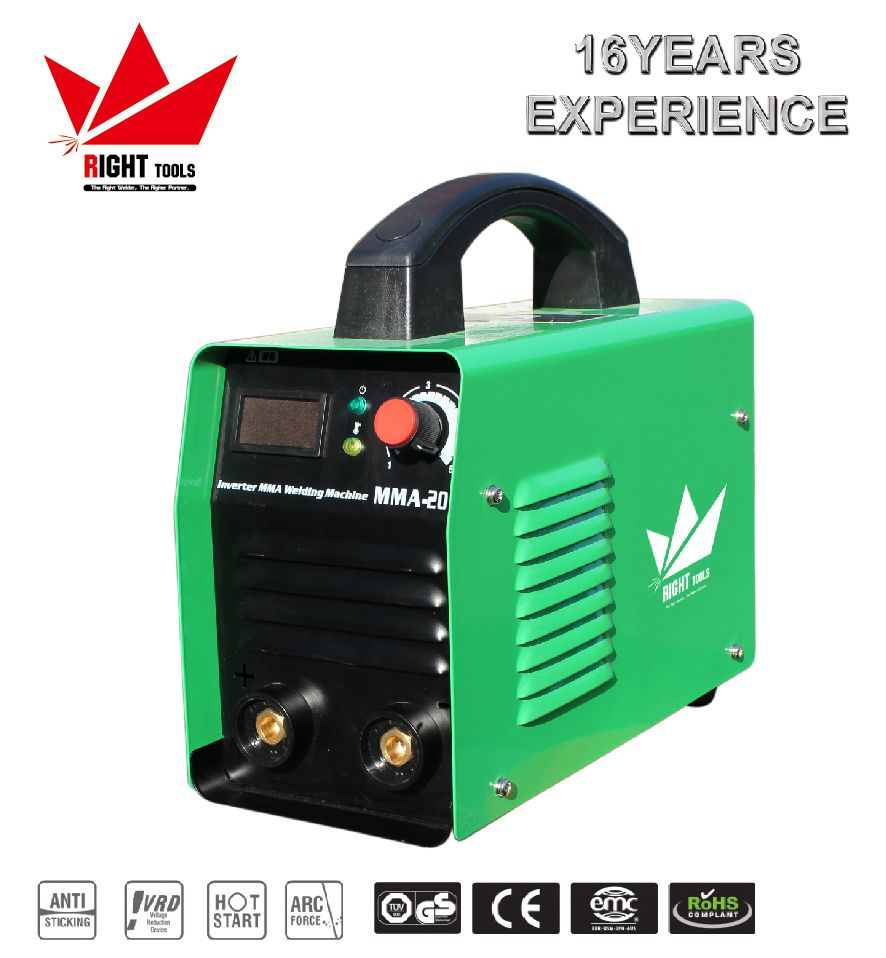 MMA200 high efficiency single phase portable arc 200