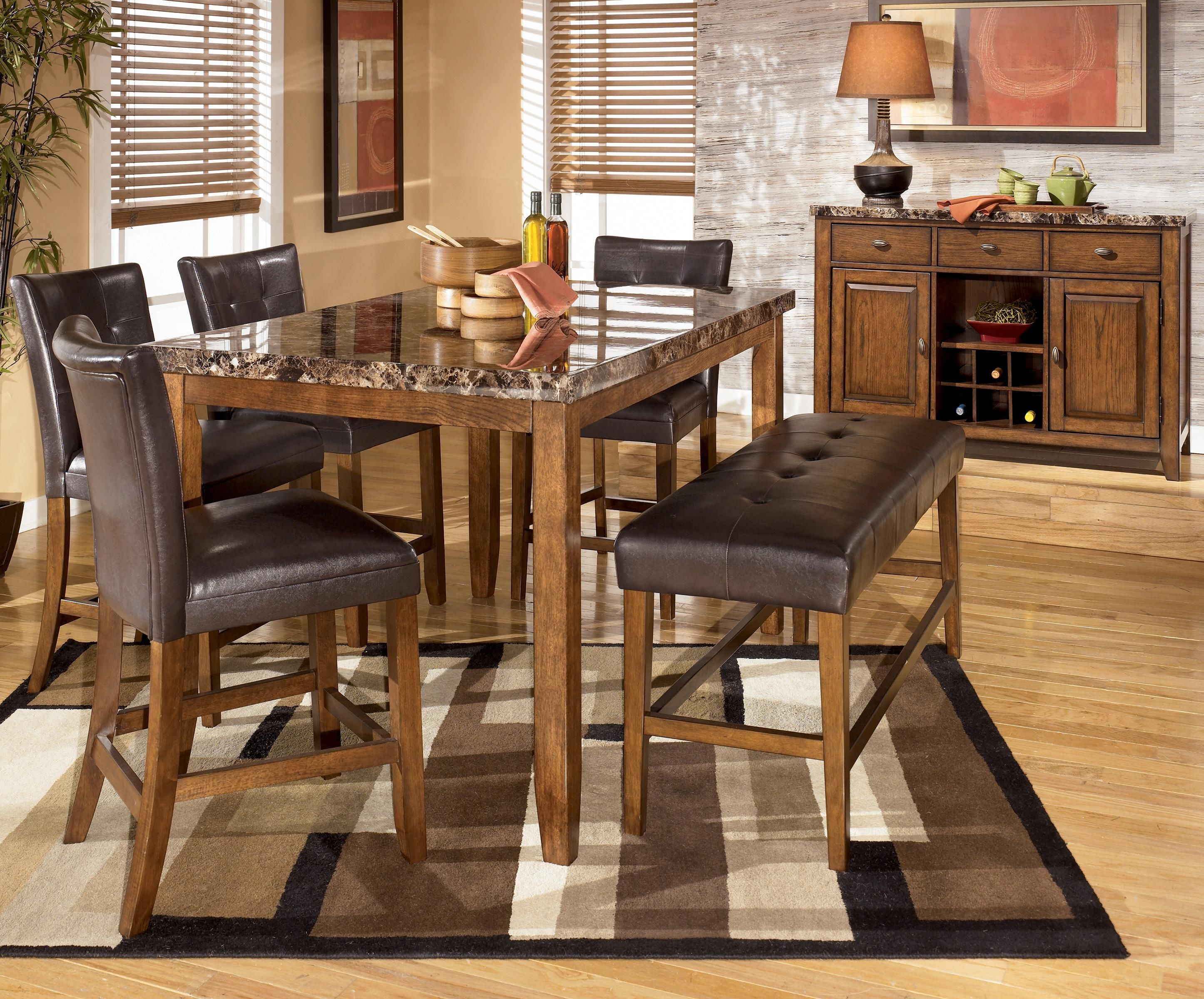 Lacey Rectangular Counter Height Tablesignature Design Alluring Cheap Dining Room Tables For Sale Inspiration Design