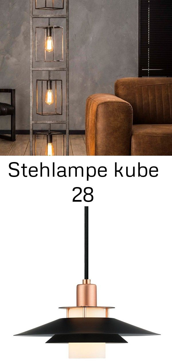 Stehlampe Kube 28 Home Decor Lamp Decor