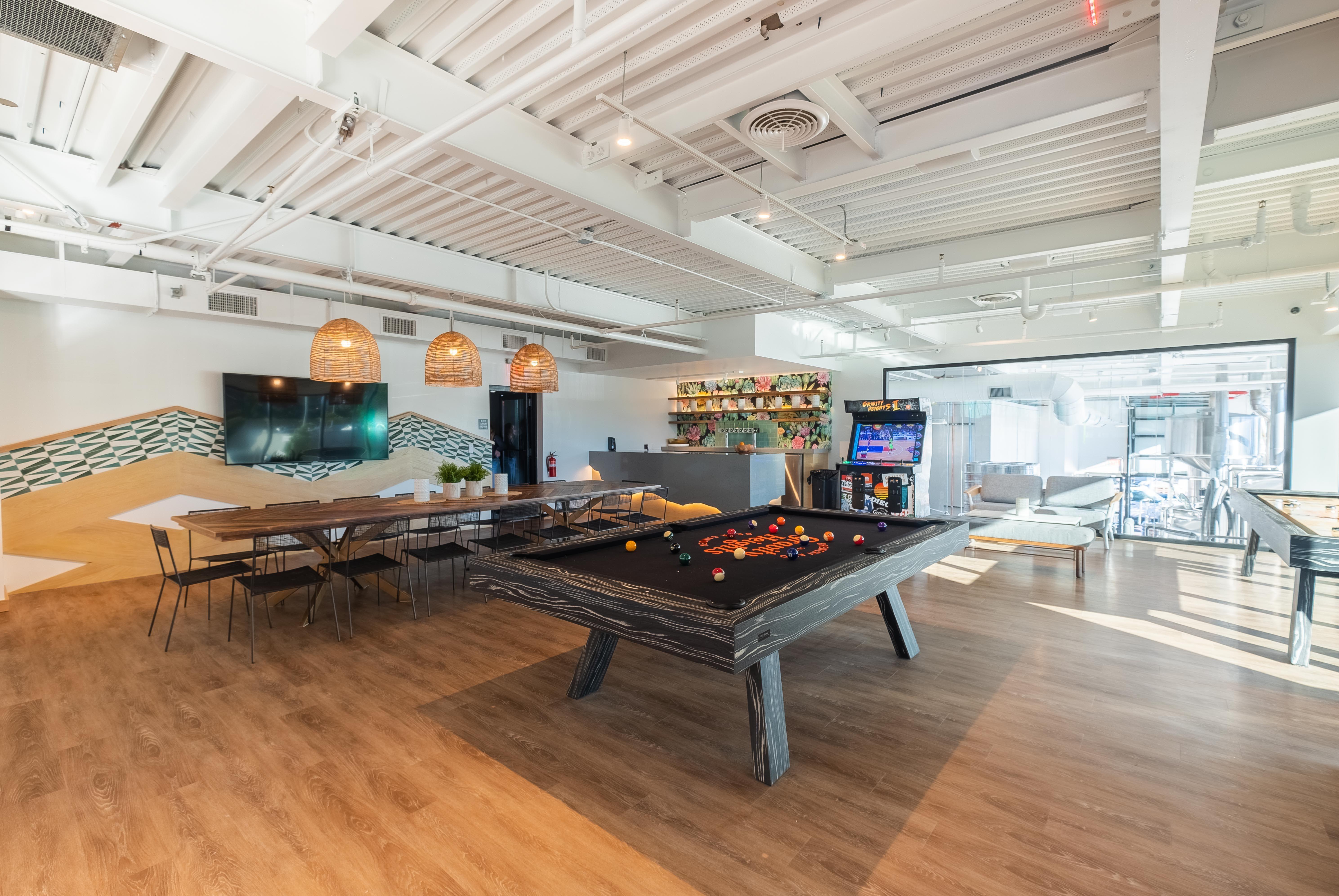Pin By 11 Ravens On Modern Custom Luxury Pool Tables Modern Pool Table Modern Pools Pool Table