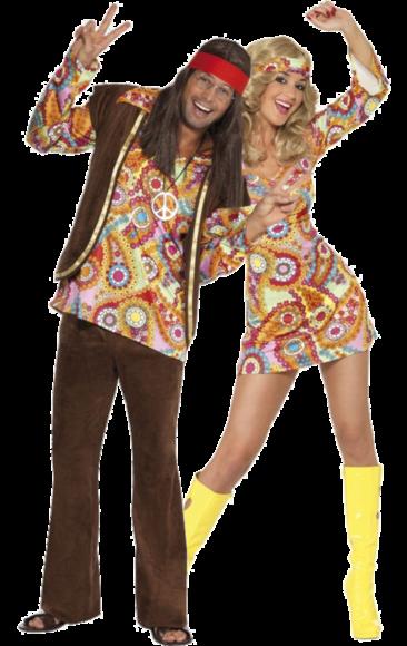 Groovier Dancer 60/'s Disco Retro Hippy 1960/'s Full Suit Fancy Dress Costume