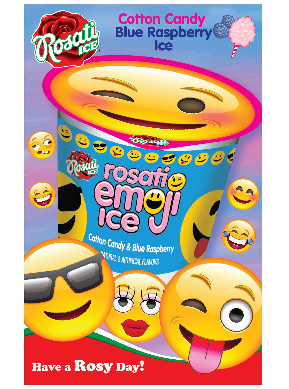 Pin By Rosati Ice On Emoji Ice Frozen Treats Italian Ice Cereal