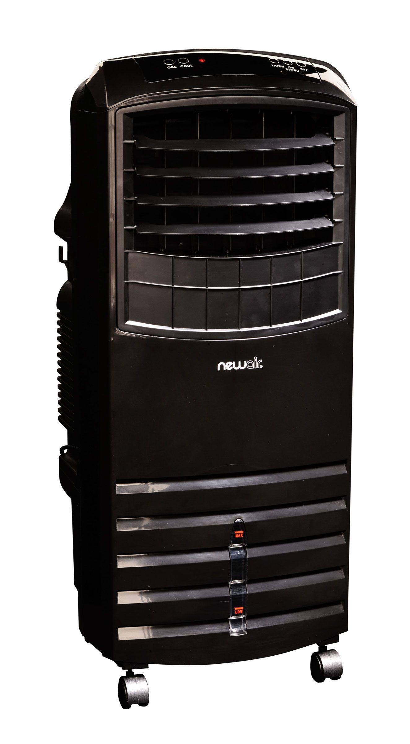 AF1000B Black Portable Evaporative Cooler Enjoy fresher
