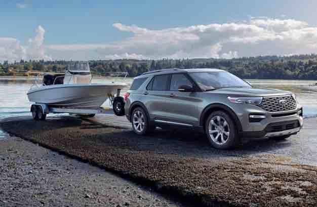2021 Ford Explorer ST 4WD Specs Ford explorer, Large suv