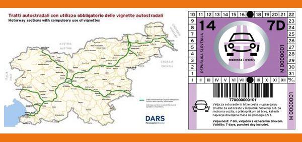 Vignette per la slovenia sold at Servicom SRL in 2 ...