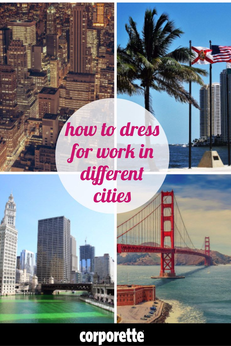 How to dress for work in different cities