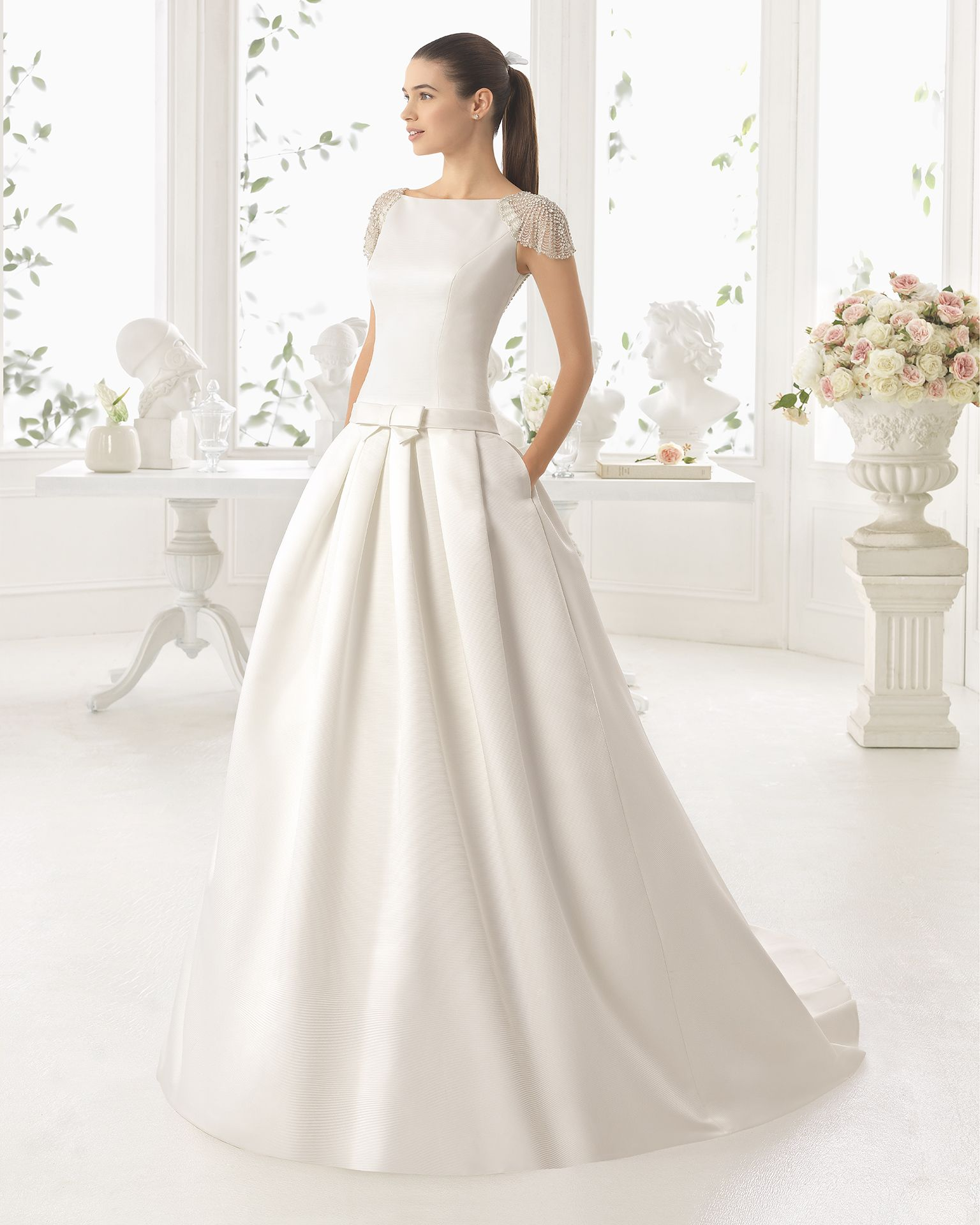 Vestidos de novia rosa clara chile