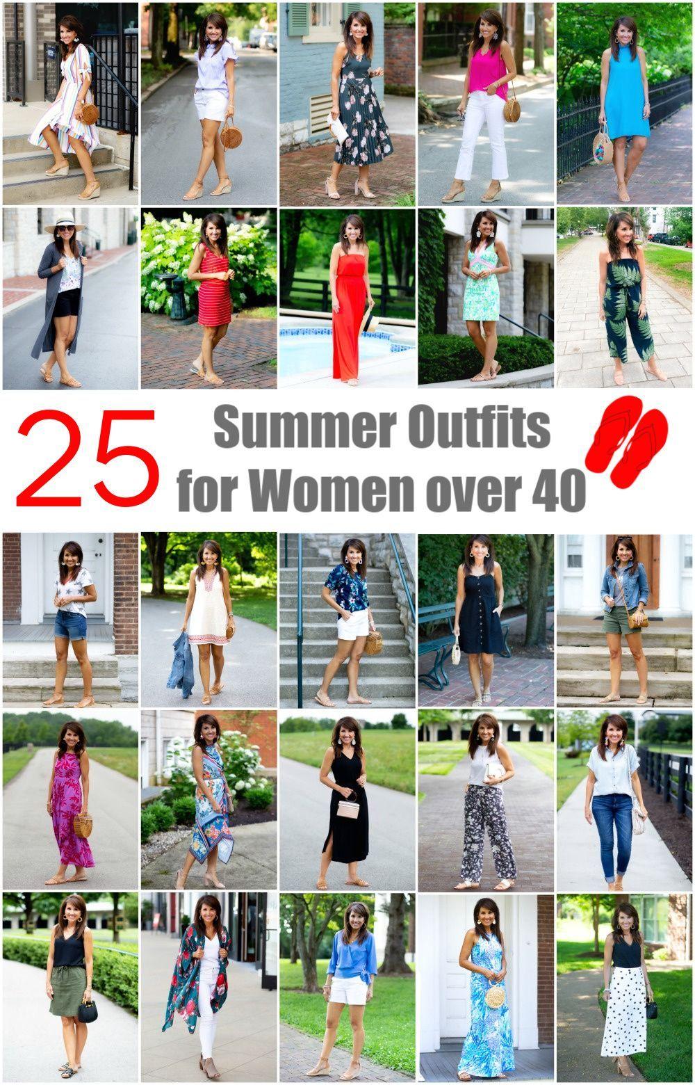25 Summer Outfits for Women Over 40-Recap   summer outfits women over 40 beach