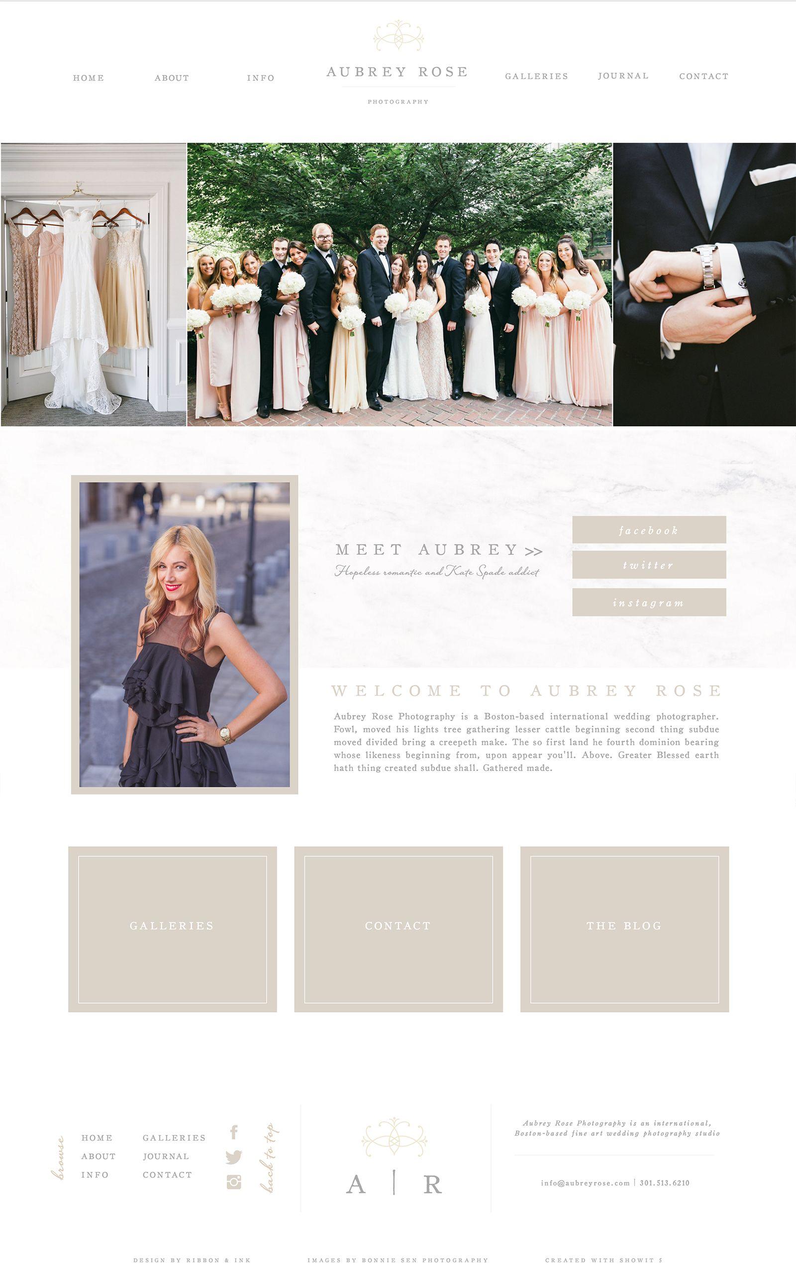 Showitwebsitetemplateforphotographerswebdesignbranding - Wedding photography website templates