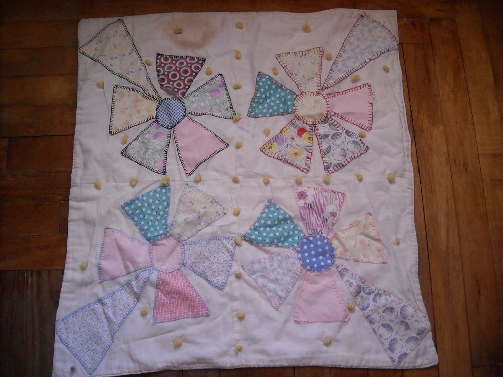 primitive country vintage doll quilt blanket cloth hand made bed ... : quilt search engine - Adamdwight.com