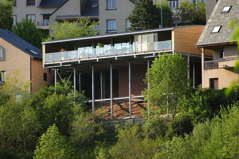 Maison Lacombe Par Jacques Lacombe Architecte Rodez Aveyron