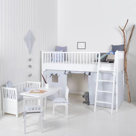 Loft Bed Kids Oliver Furniture Via Hippetantes Bed Lofts Kinderkamer Inspiratie