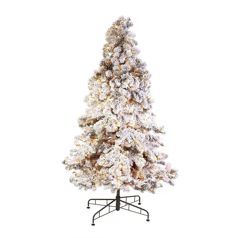 GKI/ Bethlehem Lighting Snowy 12-Feet Pine Tree, Medium ...