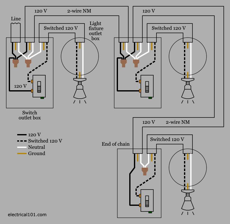 3 Light Switch Wiring Diagram