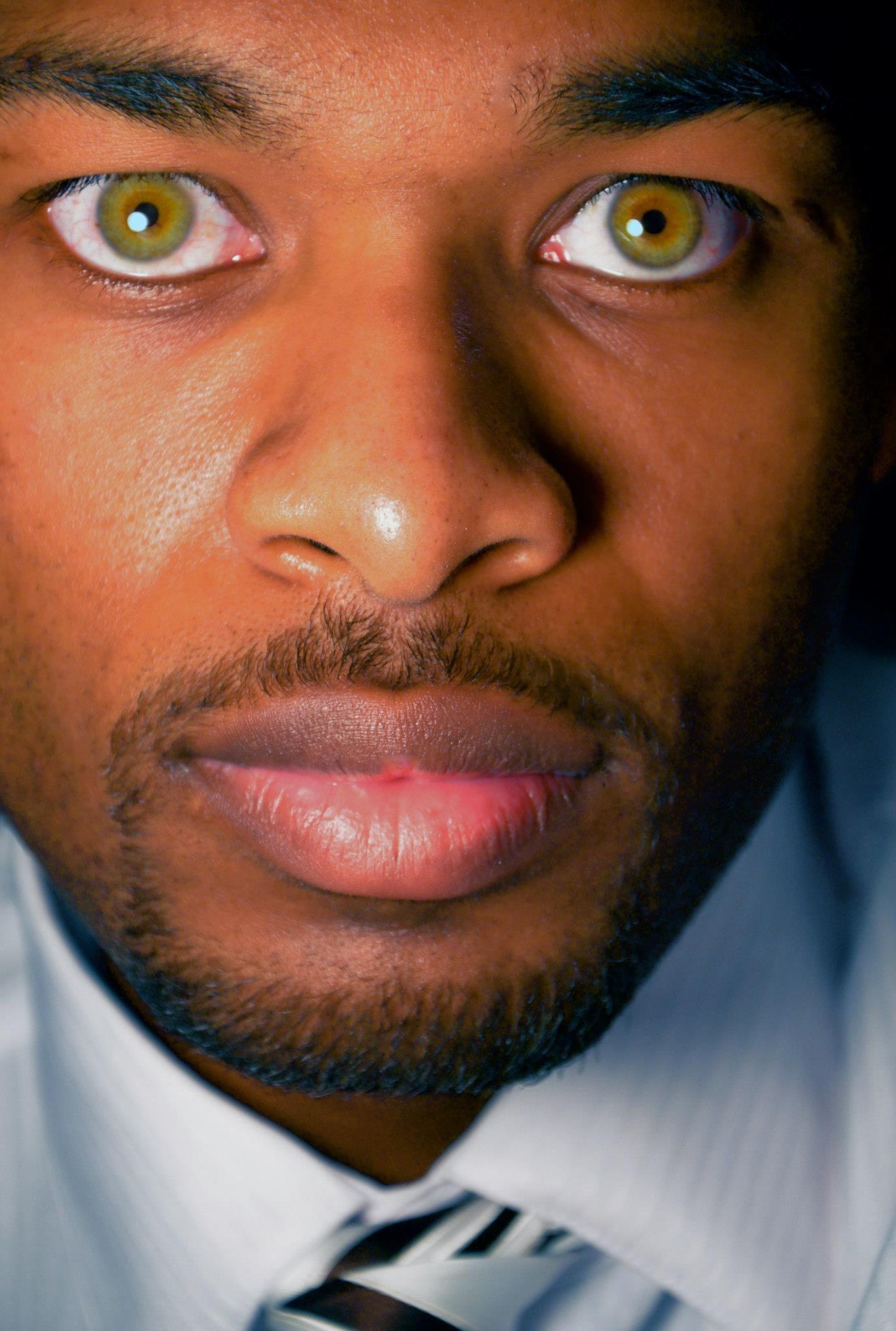 Im a Black man with weird eyes | Rikes - Augen ...