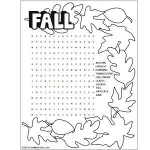 First Day Of Fall Crafts For Kids