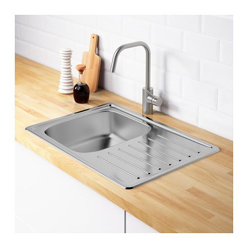 FYNDIG Single Bowl Top Mount Sink   IKEA