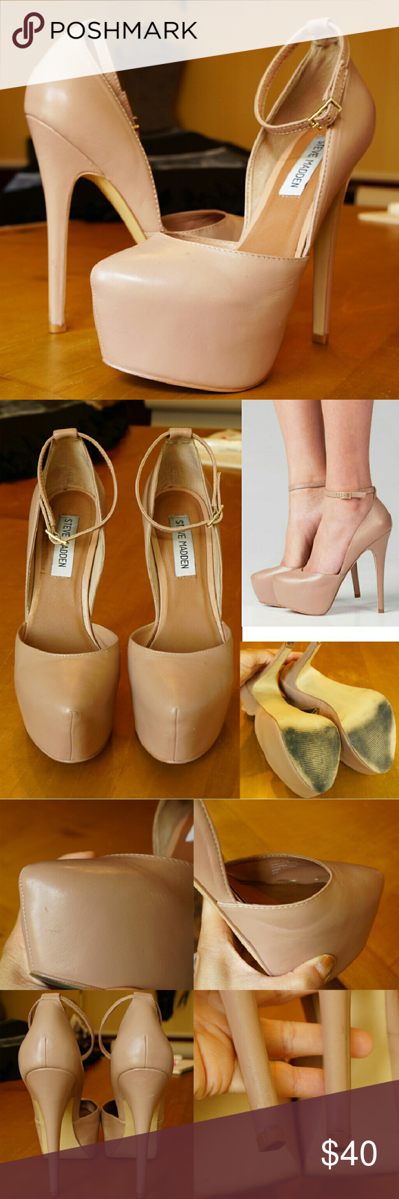 ea6491fe6 Sale! Steve Madden Deeny d'Orsay pump nude blush Size 5.5 but fits ...