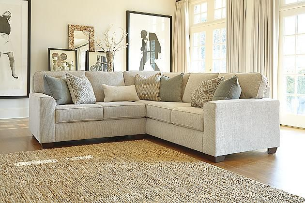 Best Sand Salonne 2 Piece Sectional View 1 Ashley Furniture 640 x 480
