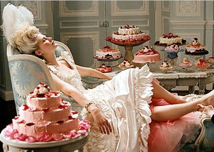 Marie Antoinette - loved this movie! Costumes and Hair alone are remarkable!!