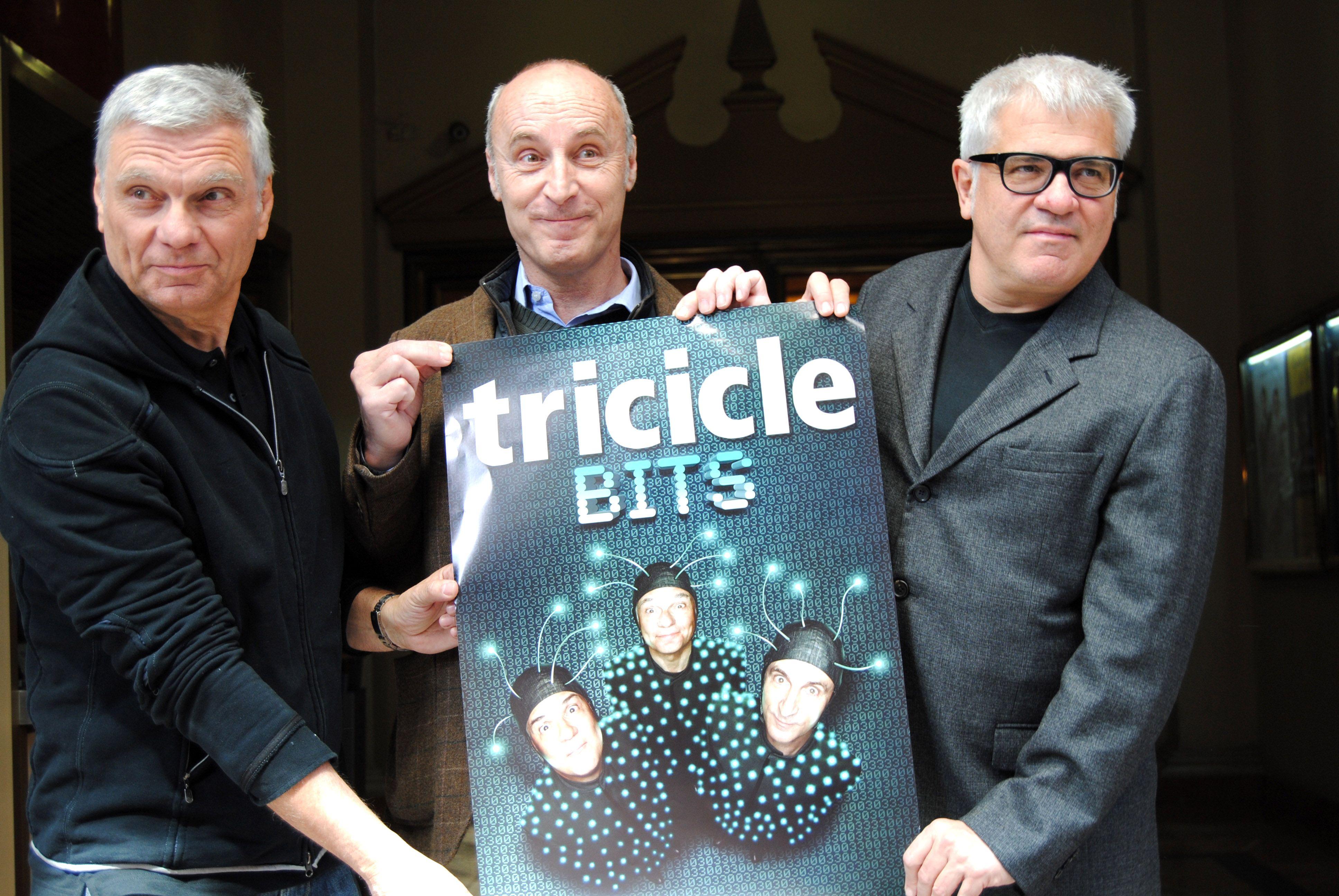 Tricicle, genios del teatro gestual.