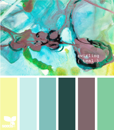 Color Wander | Teal, Aqua and Color inspiration