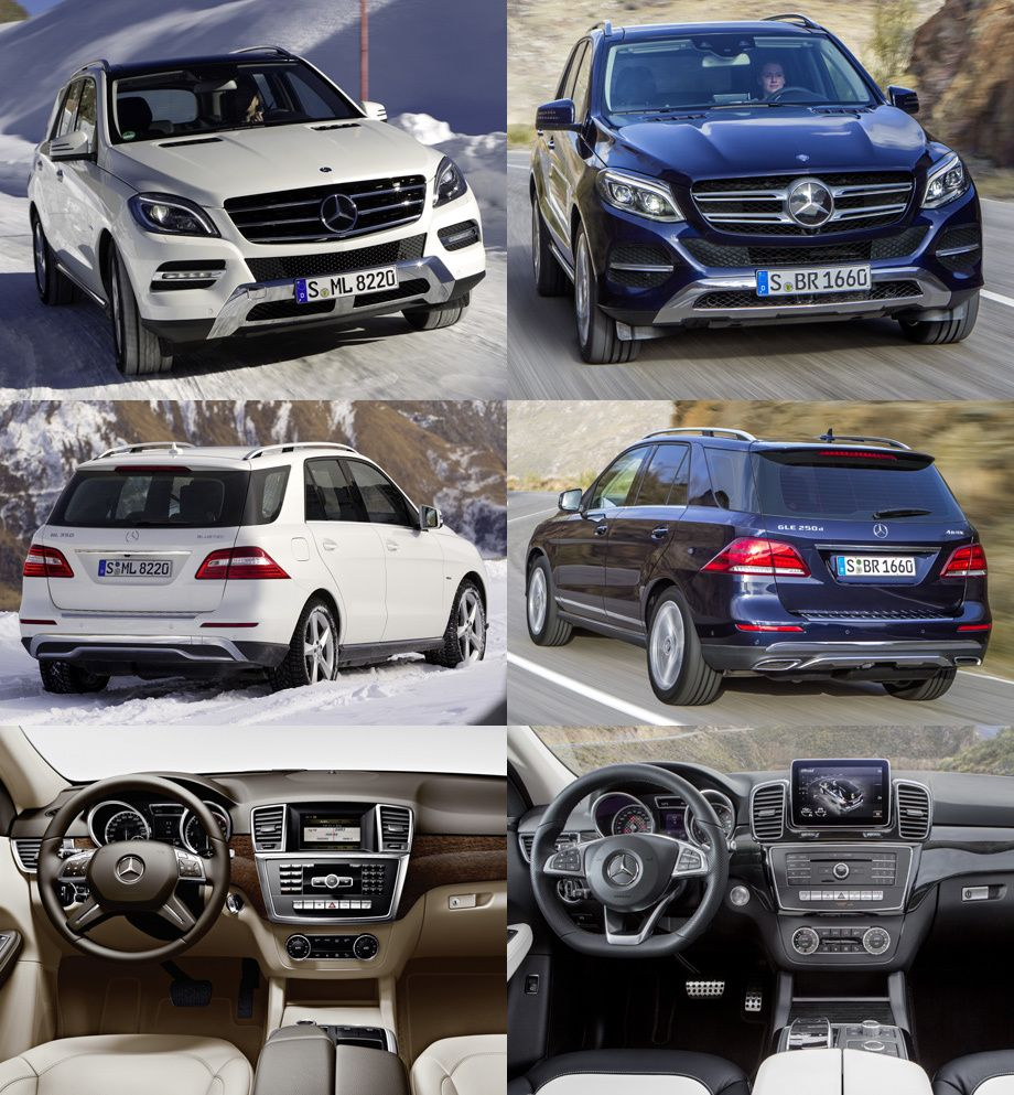 Mercedes benz gle before ml and now new gle mercedes benznewshtml