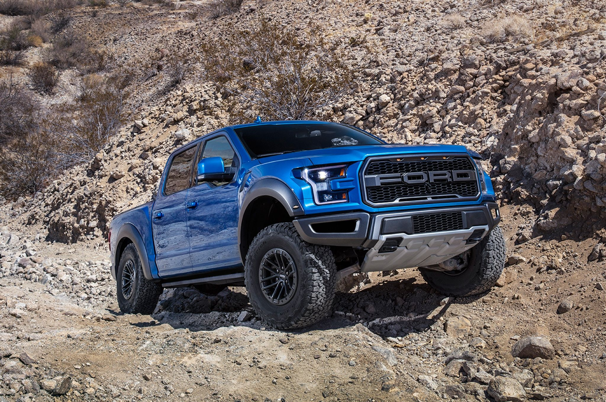 You've seen Ford Performance Blue on Ford Performance