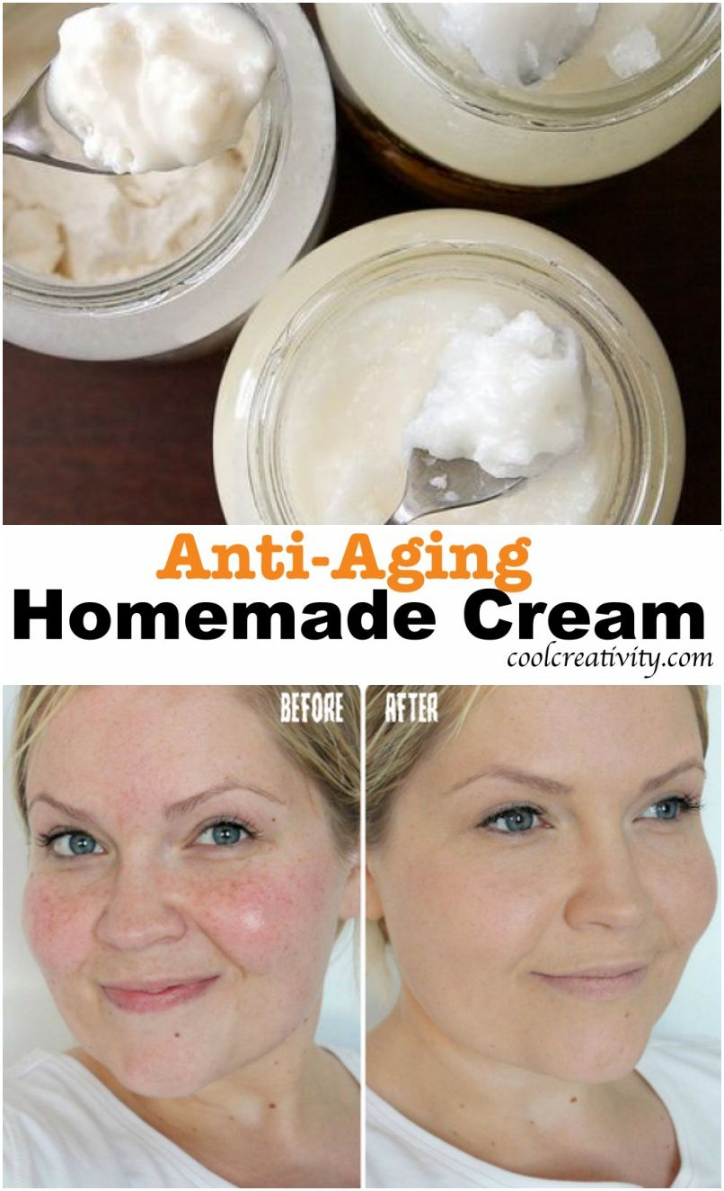 Simple Ingredients For Homemade Anti Aging Cream Anti Aging Homemade Natural Anti Wrinkle Natural Anti Wrinkle Cream
