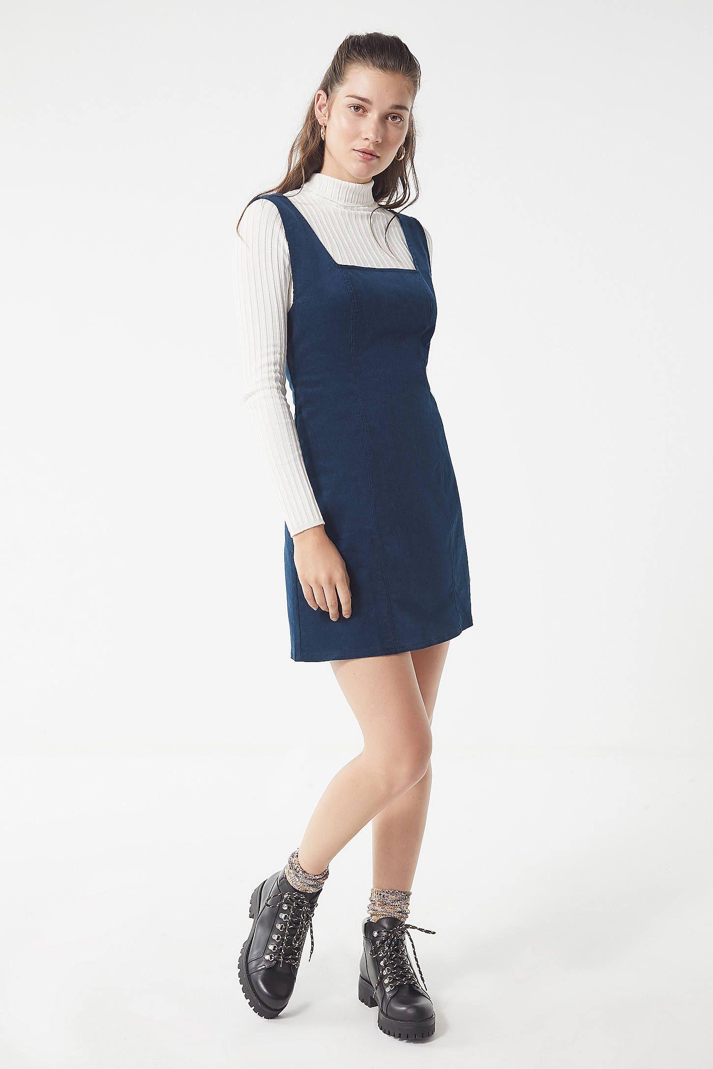 abffbf306dcb UO Taylor Corduroy Mini Dress in 2019   clothing   Dresses, Urban ...