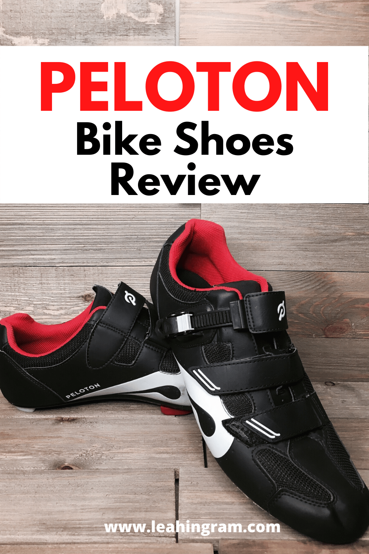 Peloton Bike Shoes Review - Leah Ingram