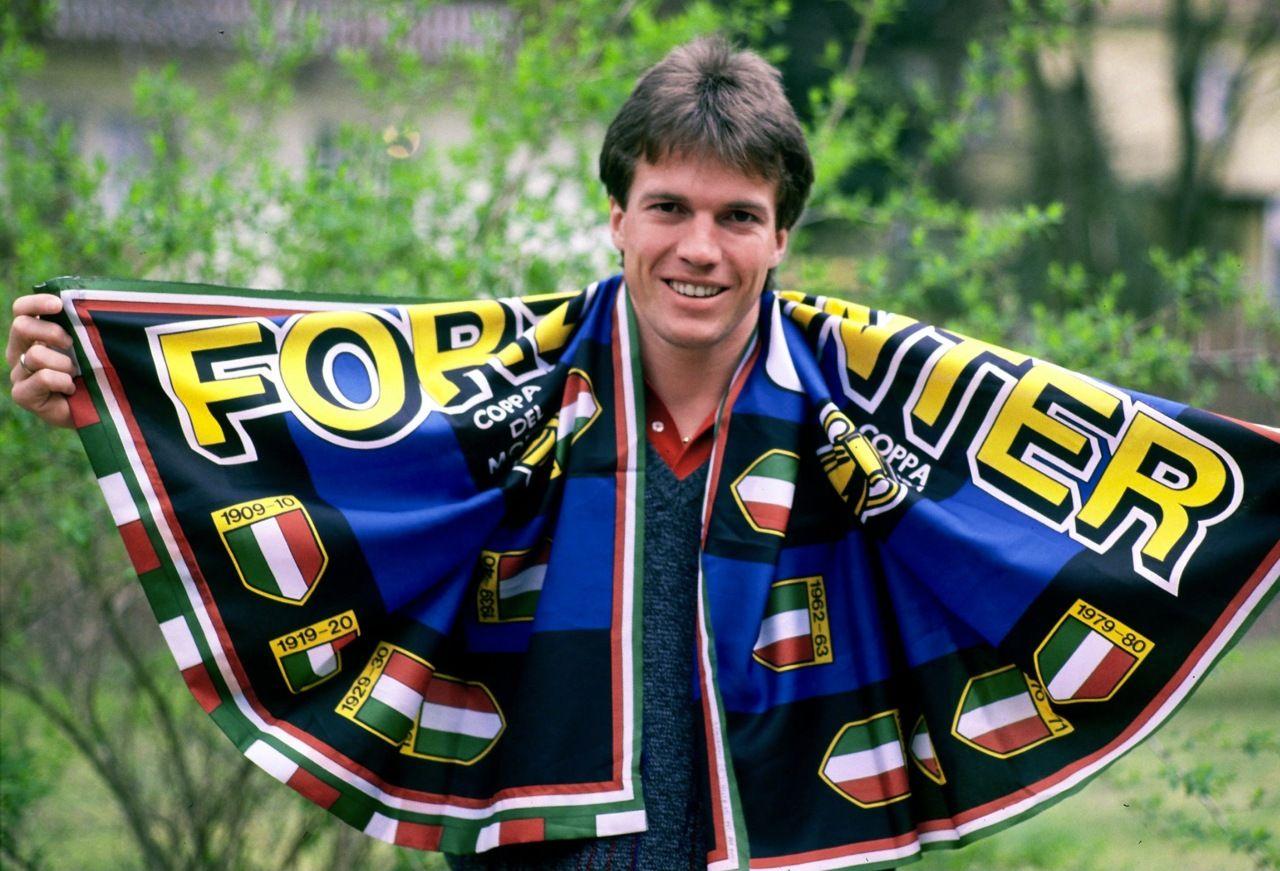 Lothar Matthaus Inter Milan AF s Football Idols