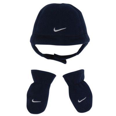 Baby Nike Baby Boys 2-Piece Beanie & Mittens Set Gloves & Mittens