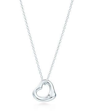 9acdb1dfc Tiffany & Co. Elsa Peretti Open Heart Pendant Elegant and unique, Elsa  Peretti's free-form heart has been iconic for decades.