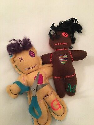 Hand Made Personalised dammit doll Gingerbread People Key