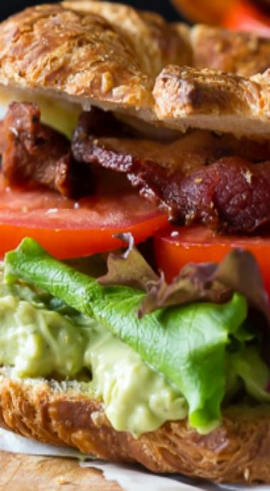 Avocado Egg Salad BLT