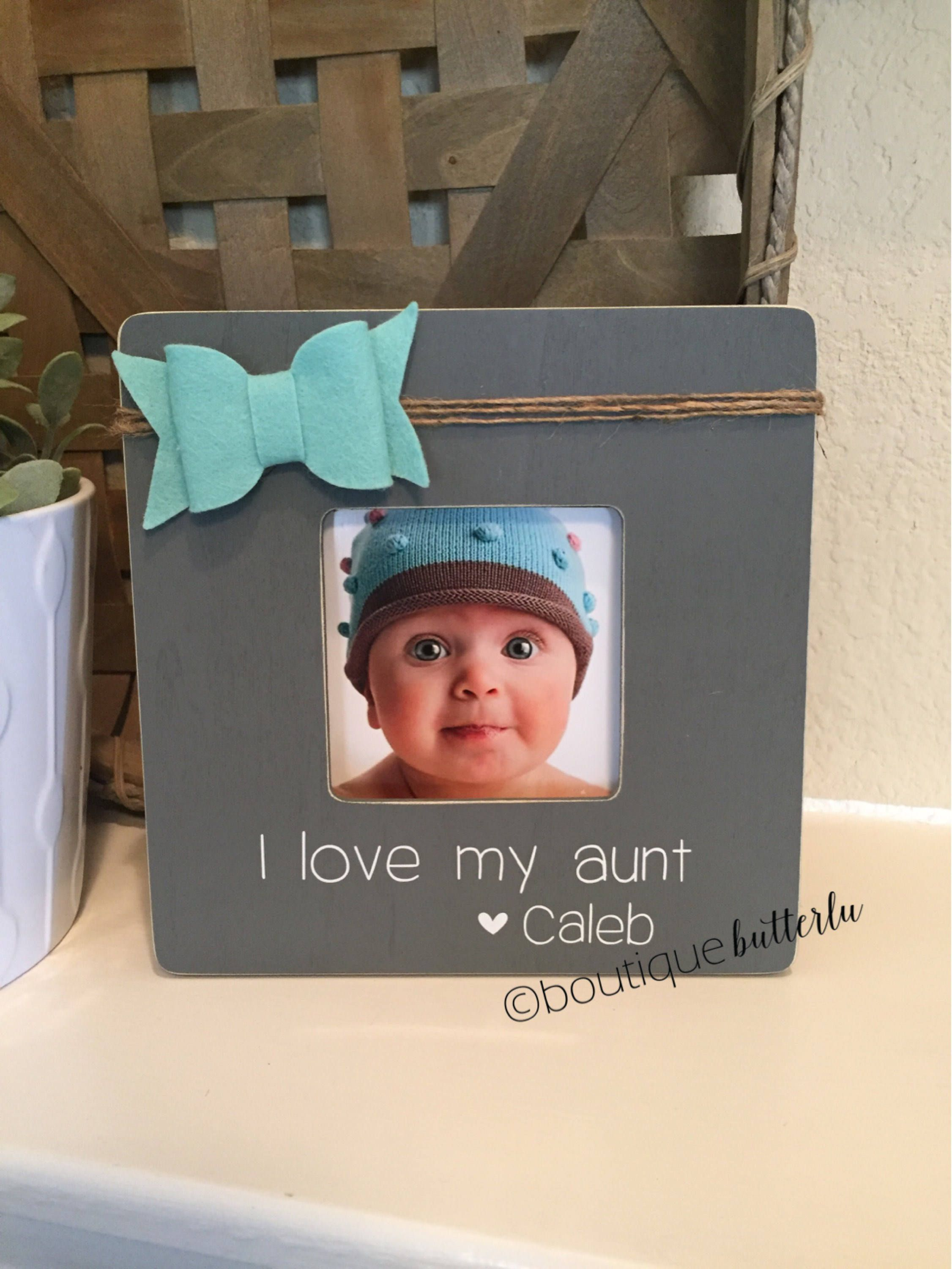 I love my Aunt gift aunt picture frame personalized gift for aunt ...