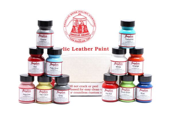 Angelus Direct Airbrush Paints For Leather Painting Leather Paint Kit Leather Paint
