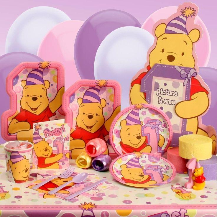 Winnie the Pooh Girls 1st Birthday Winnie the Pooh 1st Birthday
